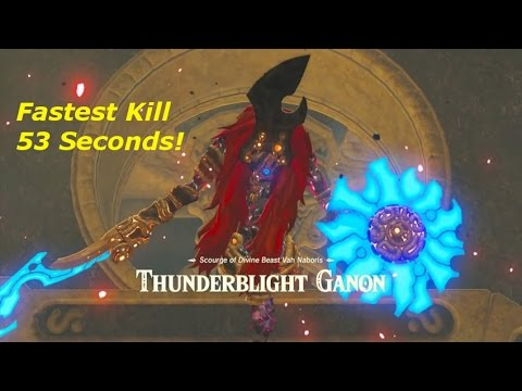 How To Thunderblight Ganon