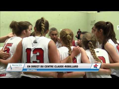 Jeux du Quebec 2016 Volleyball en salle 2016 07 21 Femmes Finale Or Montreal CapitaleNationale