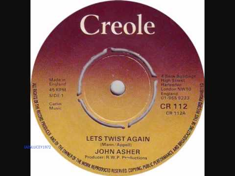 TISWAS -  presenter JOHN ASHER singing LETS TWIST  AGAIN - 1975