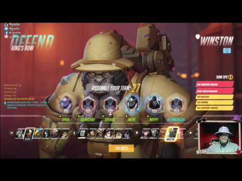 T-Pain Plays OVERWATCH With Deadmau5, Josh OG & More