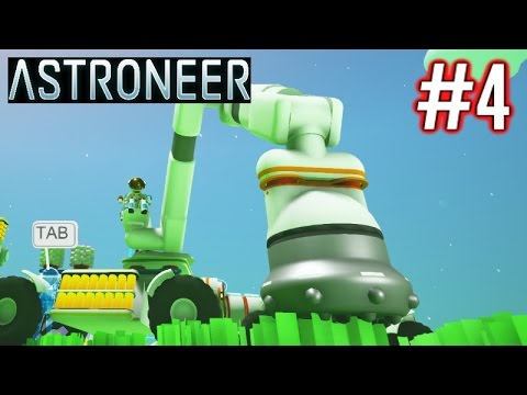 Astroneer Gameplay Ep 4 | Mining Drill Attachment!