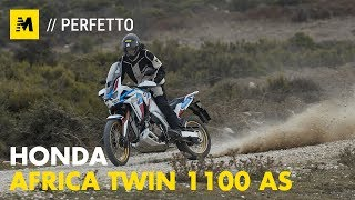 Honda Africa Twin 1100 Adventure Sports 2020: TEST [English sub.]