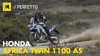 Honda Africa Twin 1100 Adventure Sports 2020 TEST English sub