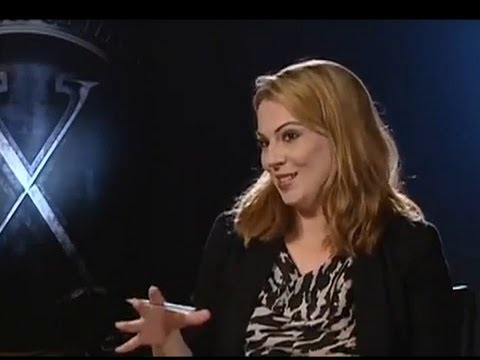 Louise Hulland, (Entertainment News) Interview with stars of X Men