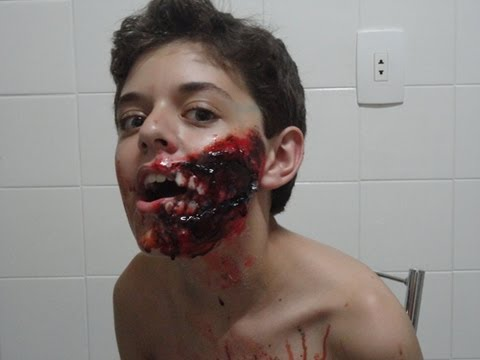 Maquiagem Zumbi - Zombie Make Up