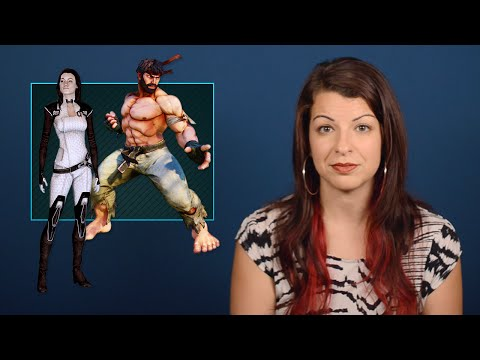 A timely Tropes vs. Women in Video Games covers body language, male gaze
