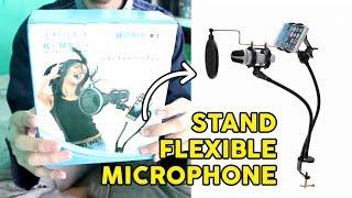 STAND UNTUK MICROPHONE FLEXIBLE, COCOK UTK REKAMAN YOUTUBER PEMULA (UNBOXING)  | Tutorial Wow