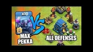 Best Clash Of Clans Attacks - 10 MAX PEKKA vs MAX TOWN HALL 12 -Latest (2019)