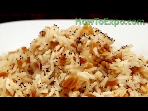how to cook rice pasta
