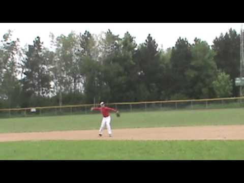 Cole Paulson (2B) Rice Lake High School Class of 2016 Baseball Skills Video
