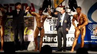 2009 Balkan BB Championship - Serbia, Bor - CBB up to 175cm - Tuty - 1st Place - Victory Ceremony