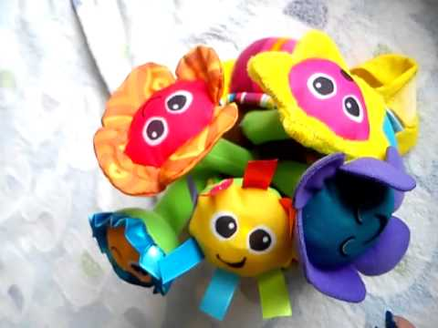 Lamaze soft chime garden review YouTube