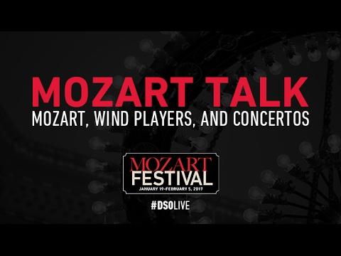 Mozart Talk: Mozart, Wind Players, And Concertos