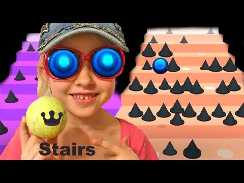 Детская игра stairs на телефон для девочек
