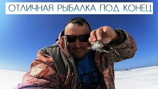 Отличная рыбалка под конец сезона