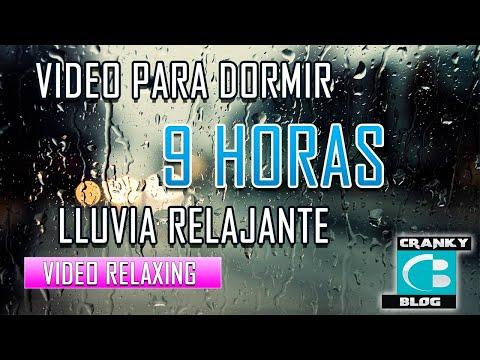 9 Horas De Sonidos De Lluvia Para Relajarse O Dormir.
