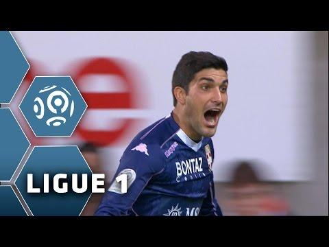 Goal Nicolas BLANDI (50') / EA Guingamp - Evian TG FC (1-1) - (EAG - ETG) / 2014-15