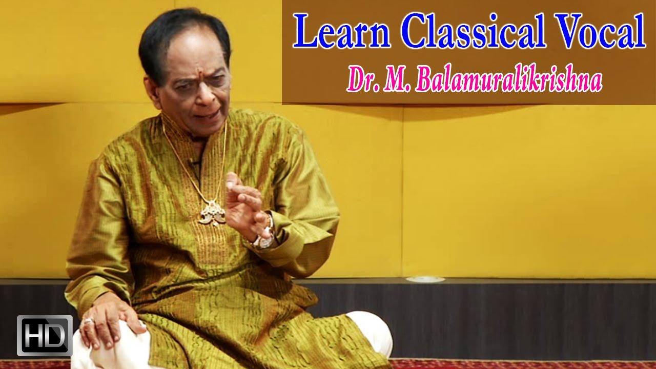 Learn to Sing Classical Vocal -Gam Ganapathim(Kriti) -Dr.M.Balamuralikrishna - Step by Step Tutorial