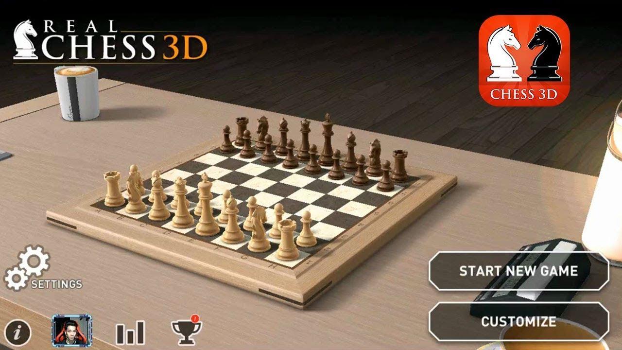 Real Chess 3D: Game cờ vua 3D đồ họa đẹp và chân thực [P1]