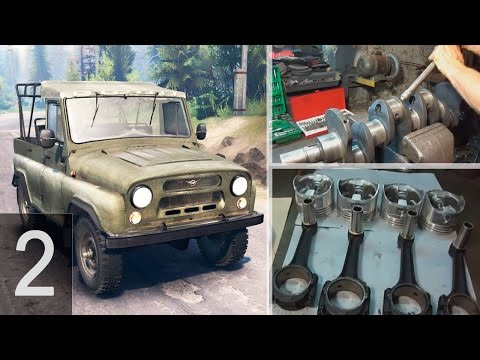 УАЗ/ГАЗЕЛЬ - Ремонт двигателя УМЗ 421 - Часть 2 - Замена втулок шатунов