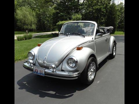 volkswagen vw beetle bug convertible  car story  lou costabile youtube
