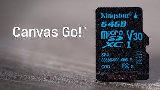 Class 10 Micro SDHC/SDXC Cards - Canvas Go! - Kingston Technology