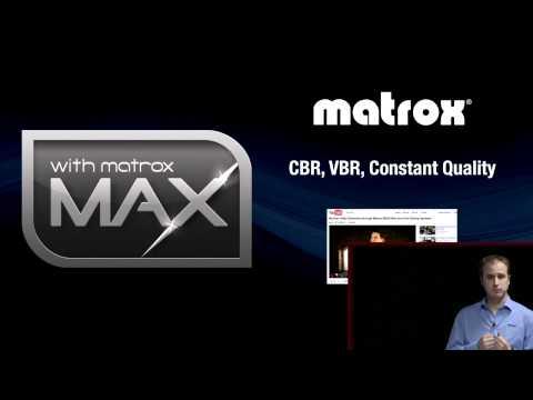 Matrox MAX et Thunderbolt