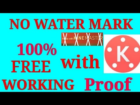 Download Kinemaster 🚫NO WATERMARK� on Edited videos 100%WORKING With PROOF✔(MUST WATCH)