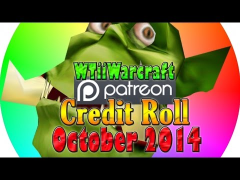 Warcraft 3 - Patron Credit Roll | October 2014