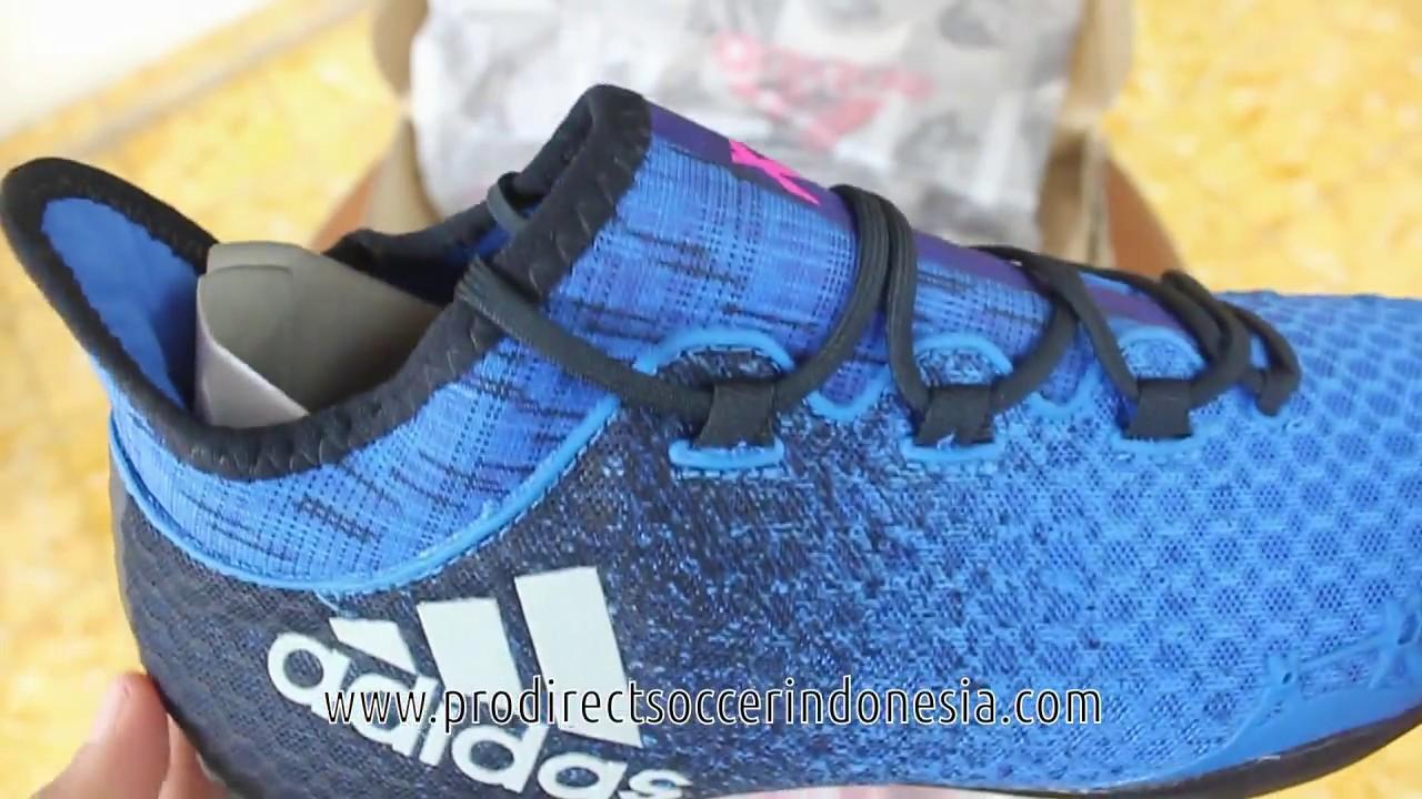Sepatu Futsal Adidas X Tango IN Tango azul BB5000 Adidas Sepatu YouTube original cceaf35 - sfitness.xyz