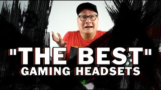 """THE BEST"" WIRELESS GAMING HEADSETS!"