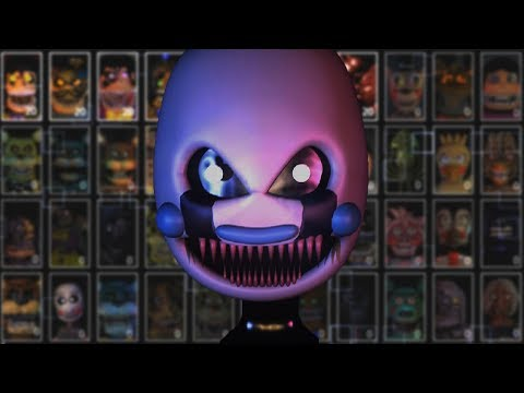 NIGHTMADMARIONNE WELCOMES ME WITH DEATH KISSES | PSFC ULTIMATE CUSTOM NIGHT ORIGINAL CREW CHALLENGE