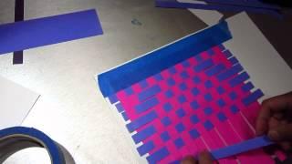ClassPlan - Paper weaving ASMR