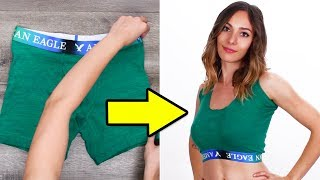 Super Cool DIY Clothing Hacks and More Girls DIY Life Hacks by Blossom