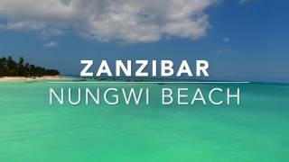 Amazing Zanzibar Aerial - Nungwi Beach- Tanzania - Africa - DJI Phantom 4 Pro Занзибар
