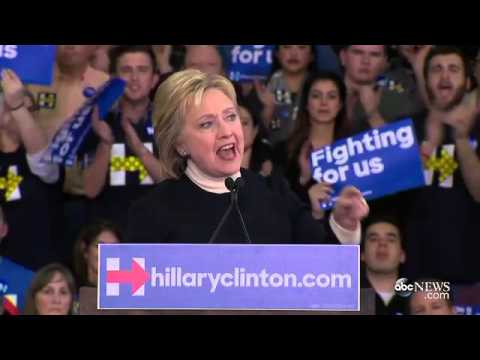 Hillary Clinton's FULL Speech in New Hampshire After Loss to Bernie Sanders