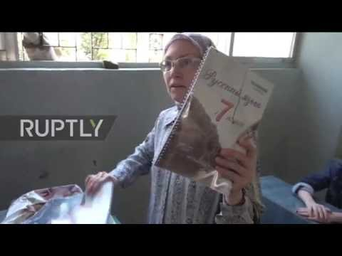 Syria: Teachers prepare for start of school year in war-torn Aleppo