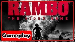 Rambo The Video Game PC - Gameplay Comentado PT BR