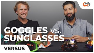 """MTB Sunglasses VS MTB Goggles with Richie Schley """"THE SCHLEYER"""""""