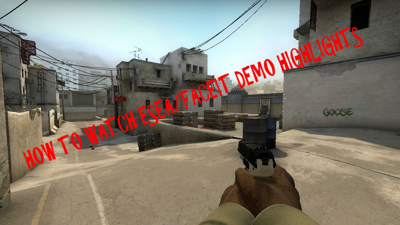 how to play faceit demos