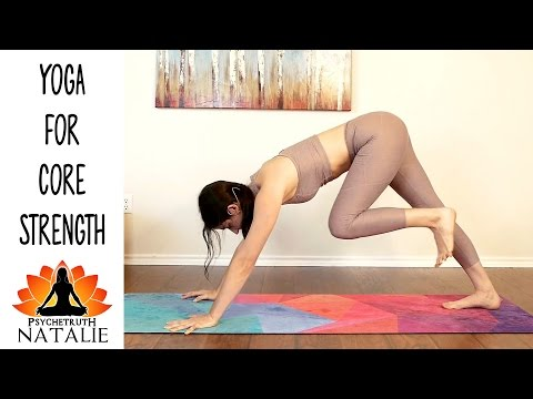 Natalie Yoga #2 Full Body Toning & Core Strength Beginners - Intermediate Workout