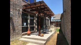 Gambar cover Cedar Pergola and Outdoor Kitchen in Allen, TX