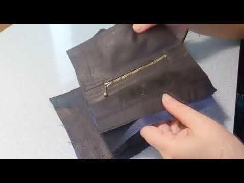 Сшить мужскую сумку из кожи своими руками выкройки