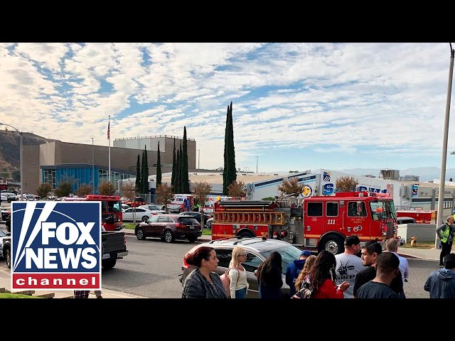 Police update the media on California high school shooting