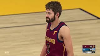 NBA 2K18 PS4 Season Gameplay Cleveland Cavaliers vs Golden State Warriors 12 25 2017