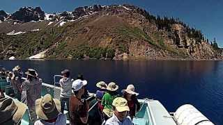 Crater Lake Oregon Summer 2013 -Volcano Boat Cruises