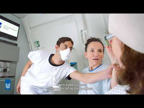 Welcome on Board – Infection Prevention at the University Hospital Zurich (Dutch subtitled)