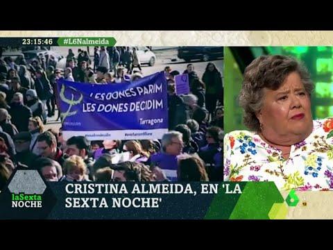"""cristina-almeida:-""""el-aborto-no-es-un-derecho-absoluto,-sino-una-decisión-personal-de-las-mujeres"""""""