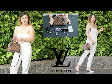 louis-vuitton-alma-bb-damier-ebene-pros-&-cons-mod-shots-all-angles+what's-inside-my-bag-|-pearl-yao