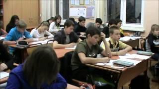 Открытый урок алгебры в 8 классе 4 декабря 2012 года, учитель   Пожогина Г Ю